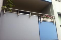 Balkonbrüstung - Erhöhungen