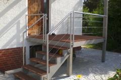 Treppengeländer Drahtseil