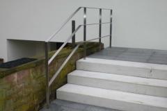 Treppengeländer Flachprofil