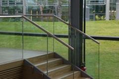Treppengeländer Ganzglas