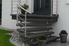 Treppengeländer gewendelt