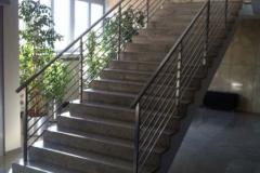 Treppengeländer waagerecht vierkant