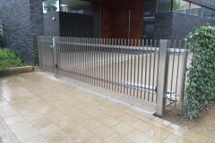 Zäune und Tore (Flachstahlfüllung)