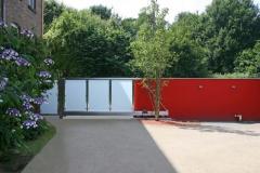 Zäune und Tore (Glasfüllung)