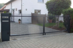 Zäune und Tore (Stahl)